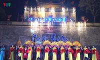 "Acara pembukaan ""Memori Hanoi"" di Benteng Kerajaan Thang Long"