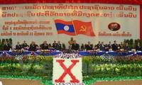 Acara pembukaan Kongres Nasional ke-10 Partai Rakyat Revolusioner Laos
