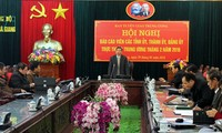 Konferensi para pelapor tentang hasil Kongres Nasional ke-12 PKV