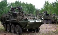 AS berencana menggelarkan satu brigade mobil berlapis baja di Eropa Timur