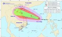 Daerah-daerah di Vietnam menggelarkan langkah-langkah darurat untuk menghadapi taufan Doksuri