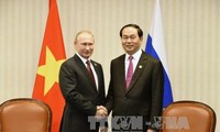 Presiden Vietnam, Tran Dai Quang mengirim surat ucapan terima kasih atas bantuan Rusia kepada Vietnam dalam mengatasi akibat taufan Damrey