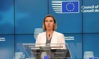 Uni Eropa berbagi kerugian-kerugian yang diderita Vietnam dalam taufan Damrey