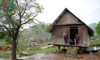 Datang kembali ke titik mata taufan di Kecamatan Mao Yang pada akhir tahun