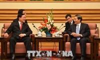 Ketua Mahkamah Rakyat Agung Vietnam, Nguyen Hoa Binh melakukan kunjungan kerja di Tiongkok