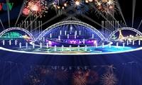 Siap untuk malam pagelaran ke-4 Festival Kembang Api Internasional Da Nang 2018