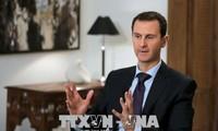 Presiden Suriah menegaskan memberikanprioritas dalam rekonstruksi Tanah Air