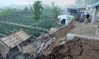 Ada banyak korban dalam beberapa gempa bumi di Indonesia