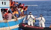 Masalah migran: Libia menyelamatkan 60 migran di laut