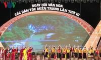 Pembukaan Pesta Budaya ke-3 etnis-etnis minoritas di Viet Nam Tengah  tahun 2018