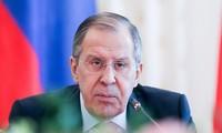 "Menlu Rusia mencela AS tentang kebijakan ""mengenakan sanksi dulu, baru melakukan perundingan"""