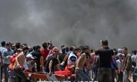 Bentrokan di perbatasan Gaza, satu orang Palestina tewas