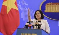 """Viet Nam dengan gigih memprotes tindakan Tiongkok di """"Bombay Reef"""""""