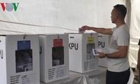Pemilu Indonesia berlangsung secara aman dan tertib