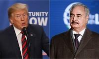 Presiden AS dan Jenderal K.Haftar berbahas tentang situasi Libia