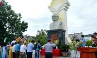 Bapak Sau Dan dalam hati warga di daerah Segi Empat Long Xuyen