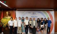 """Kontes: """"Suara Nyanyian ASEAN+3"""" menjelang acara pembukaan"""