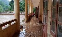 Tilgram dinas dari PM Pemerintah tentang usaha menghadapi dan mengatasi akibat hujan deras dan banjir karena taufan WIPHA