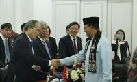 Kota Ho Chi Minh mendorong kerjasama komprehensif dengan para mitra Indonesia