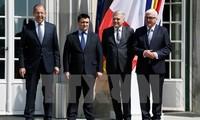 Germany seeks four-way talks on Ukraine conflict