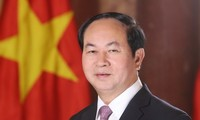 President Tran Dai Quang welcomes India's development initiatives