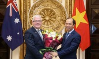 Australian Ambassador honored with Friendship Order