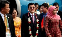Президент Вьетнама прибыл в Джакарту для участия в саммите стран Азии и Африки