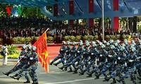 Военный парад в честь 40-летия cо Дня воссоединения Вьетнама