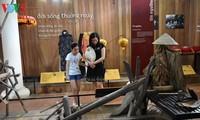 Музей сельскохозяйственных орудий у моста с черепичной крышей Тханьтоан