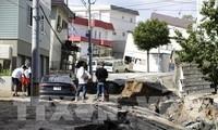 Большое количество людей постродало во время недавних землетрясений в Японии