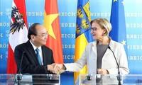 Нгуен Суан Фук посетил Нижнюю Австрию и встретился с губернатором этой федеральной земли