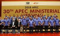 Вице-премьер, глава МИД Вьетнама принял участие в конференции министров иностранных дел и торговли стран АТЭС