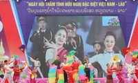 Открылся праздник «Особой дружбы между Вьетнамом и Лаосом»