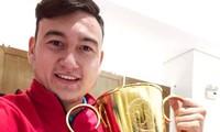 Ольга Жукова – мать вратаря сборной Вьетнама по футболу поздравила сына и Вьетнам с победой