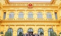Нгуен Фу Чонг присутствовал на конференции по подведению итогов работы Канцелярии президента страны в 2018 году