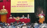 Вице-премьер Ву Дык Дам принял участие в конференции министерства культуры, спорта и туризма