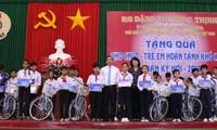 Вице-президент приняла участие в церемонии празднования в провинции Виньлонг 89-й годовщины со дня создания КПВ