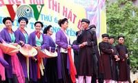 Весенний праздник народного пения «Дум» в городе Хайфон