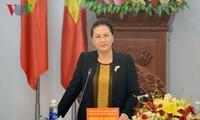 Председатель НС СРВ посетила провинцию Зялай с рабочим визитом