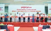 Премьер-министр присутствовал на церемонии открытия 5 новых рейсов авиакомпании Vietjet в город Кантхо