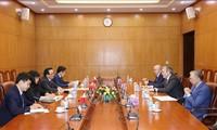 Расширение сотрудничества между коммунистическими партиями Вьетнама и России