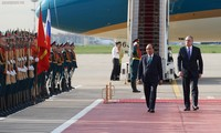 Премьер-министр Вьетнама прибыл в Москву
