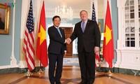 Вице-премьер, министр иностранных дел Вьетнама совершил официальный визит в США
