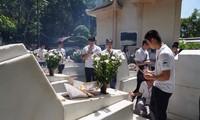 Молодые вьетнамские эмигранты почтили память павших фронтовиков