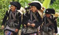 Традиционная женская одежда народности Лы в провинции Лайтяу
