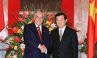 Tổng thống Chi lê kết thúc chuyến thăm chính thức Việt Nam