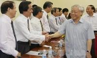 Tổng Bí thư làm việc với Học viện Chính trị - Hành chính Quốc gia Hồ Chí Minh