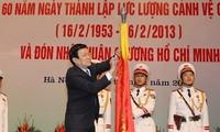 Xây dựng lực lượng Cảnh vệ Việt Nam ngang tầm khu vực