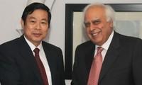 Việt Nam và Ấn Độ mở rộng hợp tác trong lĩnh vực thông tin truyền thông