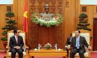 Phó Thủ tướng Vũ Văn Ninh tiếp Chủ tịch, kiêm Tổng Giám đốc Cơ quan xúc tiến thương mại Nhật Bản